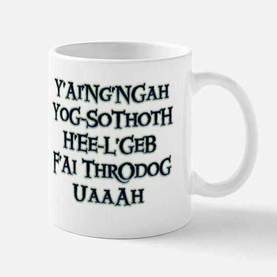 Yog-Sothoth White Mugs