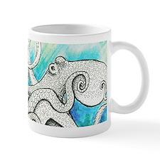 Wild Blue Octopus Mug