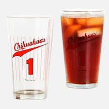 Chihuahuas Jersey Drinking Glass