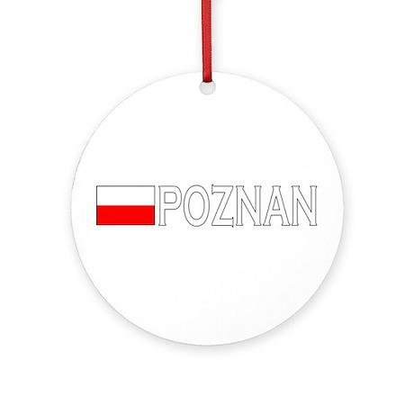 Poznan, Poland Ornament (Round)