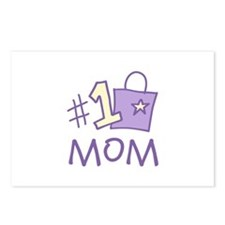 #1 Mom Postcards (Package of 8)