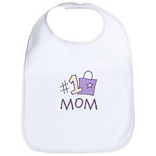 #1 Mom Bib