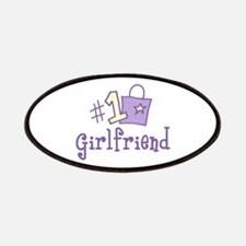 #1 GIRL FRIEND Patches