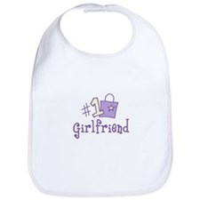 #1 GIRL FRIEND Bib