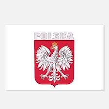 Polska Coat of Arms Postcards (Package of 8)