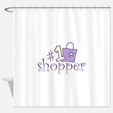 #1 SHOPPER Shower Curtain