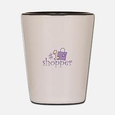 #1 SHOPPER Shot Glass