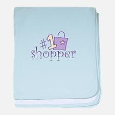#1 SHOPPER baby blanket