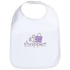 #1 SHOPPER Bib