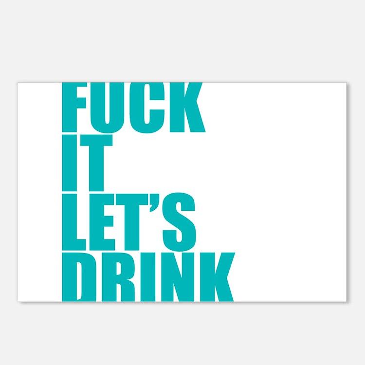 Let's Drink Postcards (Package of 8)