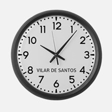 Vilar De Santos Newsroom Large Wall Clock