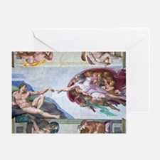 Michelangelo's S .Chapel Greeting Card