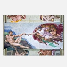 Michelangelo's S .Chapel Postcards (Package of 8)
