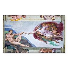 Michelangelo's S .Chapel Decal
