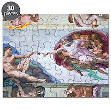Michelangelo's S .Chapel Puzzle