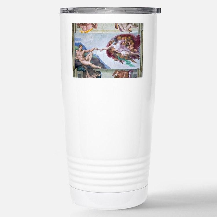 Michelangelo's S .Chape Travel Mug