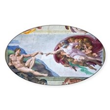 Michelangelo's S .Chapel Decal