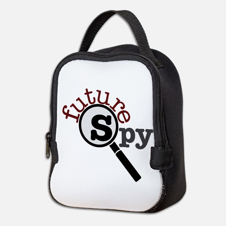 Future Spy Neoprene Lunch Bag