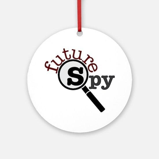 Future Spy Ornament (Round)