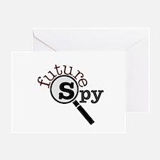 Future Spy Greeting Card
