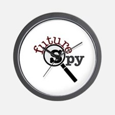 Future Spy Wall Clock