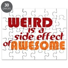 Weird Is A Side Effect of Awesome Puzzle