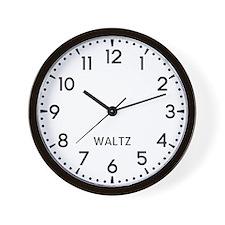 Waltz Newsroom Wall Clock