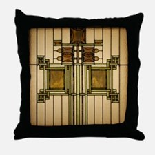 Prairie Glass Throw Pillow