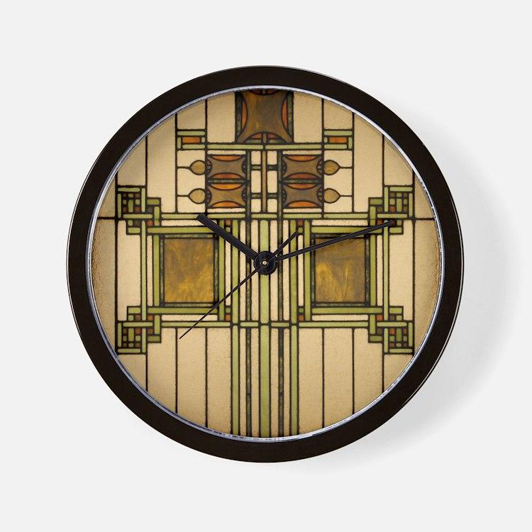 Arts and crafts clocks arts and crafts wall clocks for Arts and crafts style wall clock
