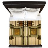 Arts and crafts Luxe King Duvet Cover