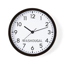 Washougal Newsroom Wall Clock