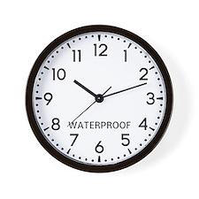 Waterproof Newsroom Wall Clock