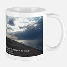 Paradise at the Beach Mugs