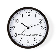 West Warwick Newsroom Wall Clock