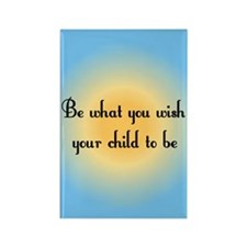 Be what you wish... Rectangle Magnet