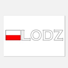 Lodz, Poland Postcards (Package of 8)