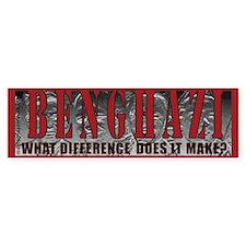 Benghazi Protest Bumper Bumper Sticker