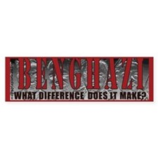 Benghazi Protest Bumper Car Sticker