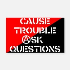 ask5x3rect_sticker.png Rectangle Car Magnet