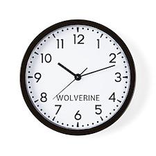 Wolverine Newsroom Wall Clock