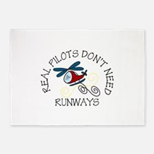 Real Pilots 5'x7'Area Rug
