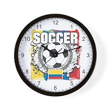 Columbia Soccer Wall Clock