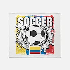Columbia Soccer Throw Blanket