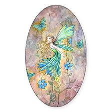 Enchanted Garden Flower Fairy Fantasy Art Decal
