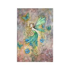 Enchanted Garden Flower Fairy Fantasy Art Magnets