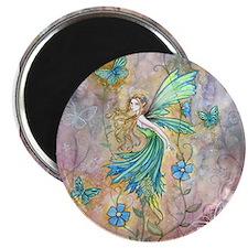 Enchanted Garden Flower Fairy Fantasy Art Magnets