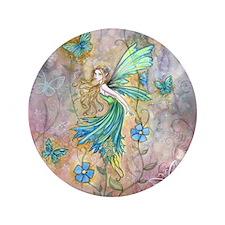 "Enchanted Garden Flower Fairy Fantasy Art 3.5"" But"