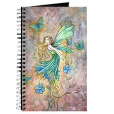 Enchanted Garden Flower Fairy Fantasy Art Journal