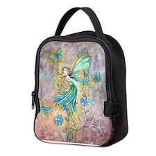Enchanted Garden Flower Fairy Fantasy Art Neoprene