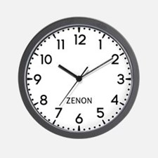 Zenon Newsroom Wall Clock